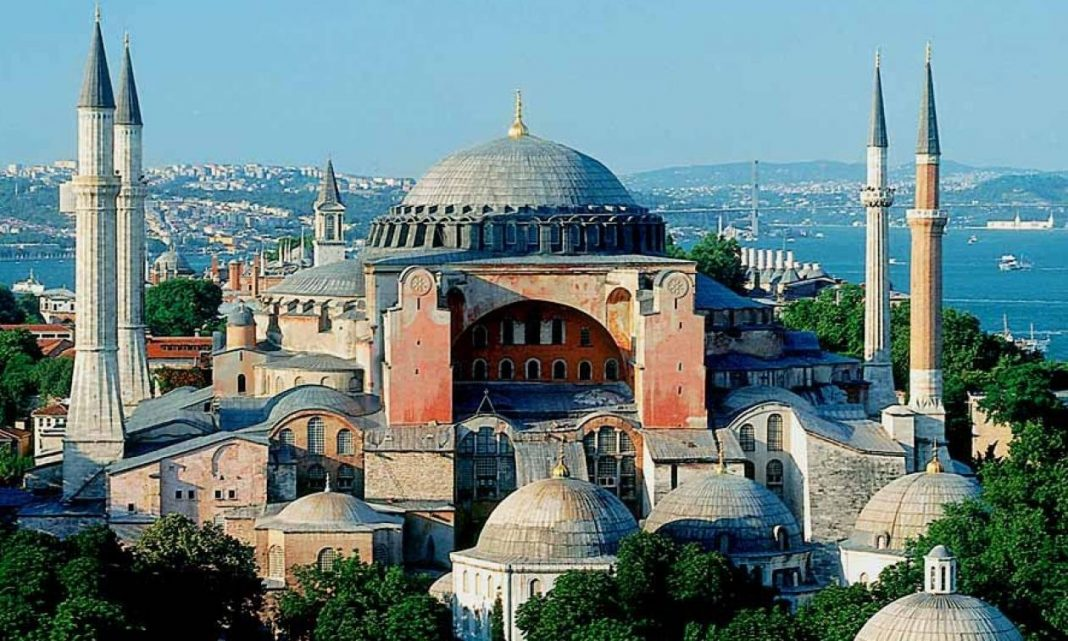 Η μετατροπή της Αγίας Σοφίας σε τζαμί